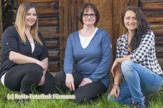 Drei Sennerinnen für die Stoißeralm auf dem Teisenberg - geöffnet wieder ab 1. Mai 2015