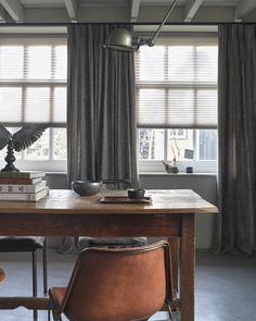 Warmte-isolerende raambekleding, voor een optimaal winters wooncomfort.   Mrwoon