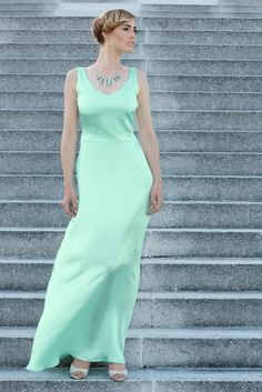 Silk Satin, Peacesilk + Organic Cotton, mint color dress If you like to make a custom order in your individual size or for your retail shop, please w Ethical Fashion Brands, Mint Color, Silk Satin, Silk Dress, Luxury Branding, Berlin, Organic Cotton, Peace, Elegant