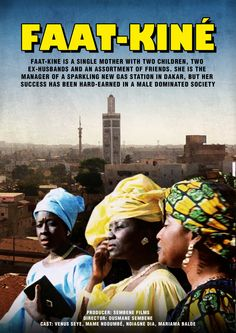 The drama of Faat Kine, an independent single mother and business woman who runs a gas station franchise; and also born in 1960, the same year Senegalese independence was attained.  Faat Kine. Toledo campus. Call number : MEDIA PN 1997 .F33 2001