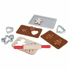 Hape Toys Gingerbread Baking Set