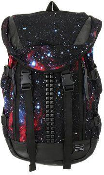 Space theme backpack / au Brand Garden [MEMENTISM]グラフィックスタッズリュック shopstyle.co.jp