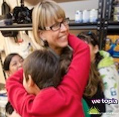 The kids at Whitney Elementary love their principal, Sherrie Gahn! Join her in improving lives by giving Joy in WeTopia!