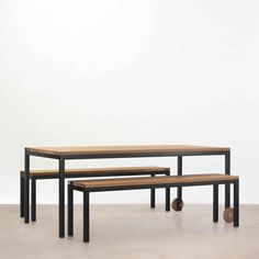 Linear Table Linear bench seat