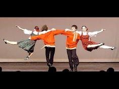 Different European Folk Dances - YouTube