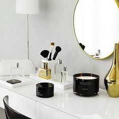 The White Company - I wish my dressing table looked like this!