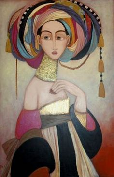 Faiza Maghni (1964, Algeria), lives in France