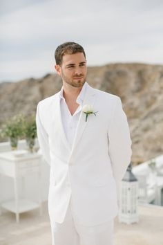 This is must see web content. Visit the webpage to learn more on white tuxedo wedding groom. Click the link for more info White Tuxedo Wedding, Wedding Tux, Wedding Dress Men, All White Wedding, Wedding Dress Styles, Wedding Attire, Wedding Ideas, Groom Attire, Groom And Groomsmen