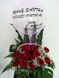 #Basketflower #波波球 #气球🎈#Ballon #Happybirthday #Rose #BlessedBirthday #BloomBoxes #FlowerBoxes #BloomBox #JohorBahru #Johor #JohorJaya #Florist #小天使花屋 #AngelFloristGiftCentre #新山花店 #花店 #新山 #柔佛 #Wechat #WhatsApp 010-6608200