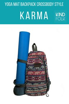The excellent design gives you versatility by allowing you to carry your mat  on the outside 2c49cf843bdc1