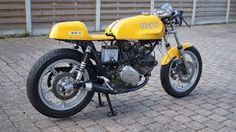 Ducati 350 cafe racer by Christian Klein. - Google Search