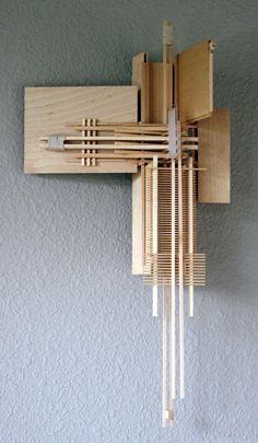 Artículos similares a Wall Sculpture: Construction Icarus Repaired en Etsy Abstract Sculpture, Wood Sculpture, Wall Sculptures, Abstract Art, Wood Wall Art, Wall Art Decor, Kolumba Museum, Kinetic Art, Contemporary Sculpture