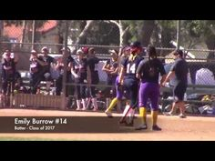 CA Varsity High School Softball: Line Drive Double: Great Oak vs Righett...