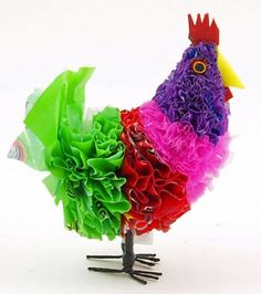 Plastic bag chicken and other creative ideas for plastic reuse