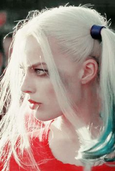 Harley Quinn played by Margot Robbie in the Suicide Squad movie 2016
