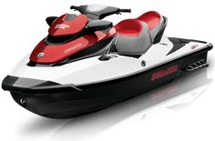 Water toy time!  The Sea Doo jet ski with Bombardier (They make jet turbines) power is a ton of fun!