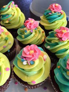 Birthday cupcakes - @Angie Wimberly Garcia