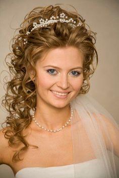 penteados para noivas cacheadas - Pesquisa Google
