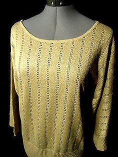 Nwt ELEMENTZ Crochet Eyelet Sweater top women SLXL Black Beige scoop dolman Boho