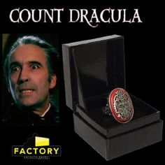Christopher Lee Dracula Ring - Bing Images