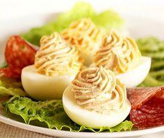 Eggs Stuffed with TurkeySpread