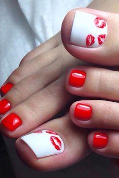 Nail Designs For Beach Vacation Idea pretty toe nail designs for your beach vacation miladies Nail Designs For Beach Vacation. Here is Nail Designs For Beach Vacation Idea for you. Nail Designs For Beach Vacation pretty toe nail designs for you. Toe Nail Color, Toe Nail Art, Nail Colors, Red Nail, Nail Nail, Acrylic Nails, Pretty Toe Nails, Cute Toe Nails, Pretty Pedicures
