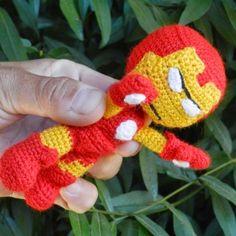 Patrón Iron Man Amigurumi