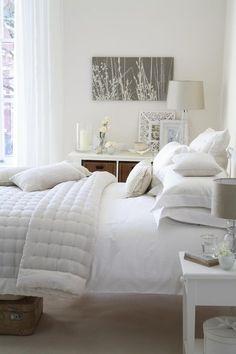 white #Bedroom Decor