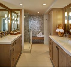 Bathroom. Beach House Bathroom. Coastal Bathroom. Neutral Bathroom. Bathroom Built-in Bench. Bathroom Countertop. Bathroom Tiling. Bathroom feature tile wall. #Bathroom W Design Interiors.