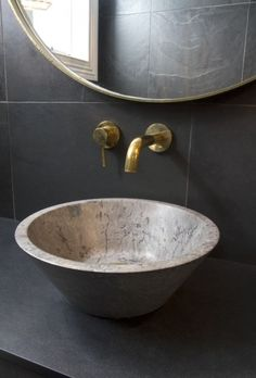 Bathroom tap and bowl