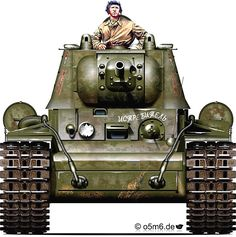Engines of the Red Army in WW2 - KV-1 Model 1942 Heavy Tank