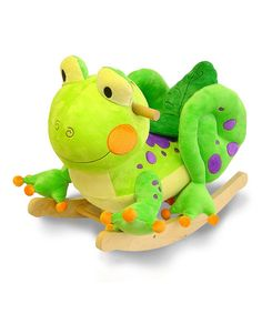 Take a look at the Fergie the Frog Rocker on #zulily today!
