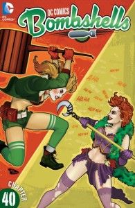 DC Comics: Bombshells Harley Quinn and Poison Ivy make it to Berlin, where Harley ill-fully finds the Joker's Cabaret in the hands of the Joker's Daughter! It's a Harley versus the Joker's Daughter brawl that you don't want to miss! Online Comic Books, Free Comic Books, Riddler, Batwoman, Vintage Comics, Comic Book Characters, A Comics, Comics Girls, Comic Covers