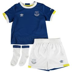 Everton Home Baby Kit 2016/17: Everton Home Baby Kit 2016/17 Show your support for a Grand Old Team… #EvertonStore #EvertonShop #EvertonFC