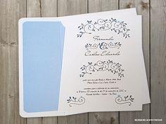 Convite de Casamento | Primavera Alegre Suave
