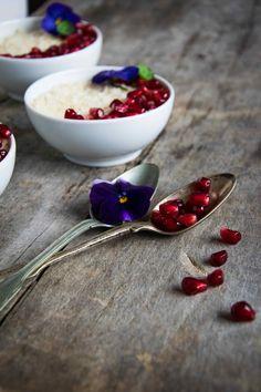 Vegán kókuszos kuszkusz puding cukormentesen - WANDER | FOOD | WONDER Puding, Panna Cotta, Ethnic Recipes, Food, Dulce De Leche, Eten, Meals, Diet