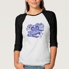 blue drive-in theater retro movie illustration T Shirt, Hoodie Sweatshirt