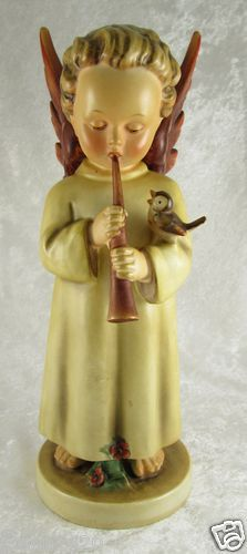 "Large Vintage c.1950-55 Hummel Angel playing Flute ""Festival Harmony""173 TMK-2 11 inches high, Ebay and in our store, $600"
