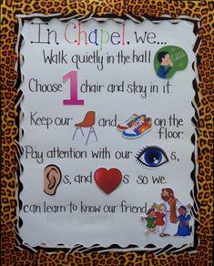 Interactive Rule Board | Preschool Classroom Management Idea