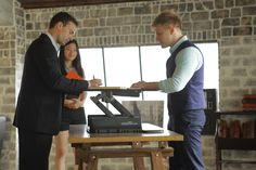 Stand up to back pain today with an adjustable height desk solution from VARIDESK