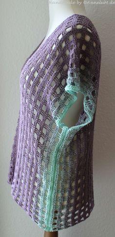 Mein Jahresrückblick 2016 | AnneluM Made from windowpane scarf pattern on Raverly