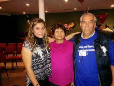 Erika, mi tía Lupe y mi tío Hugo