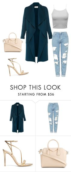 """Sans titre #3"" by khadija-youga ❤ liked on Polyvore featuring L.K.Bennett, Topshop, Gianvito Rossi and Givenchy"