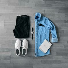 Cool outfit grids for men