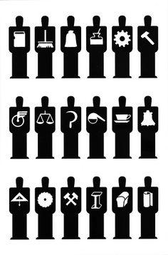 Men pictograms  (1936), via Unke E. on flickr