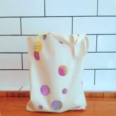 Screen printed tote bag, Gemma Patford