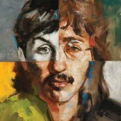 The Beatles by Gregory Manchess