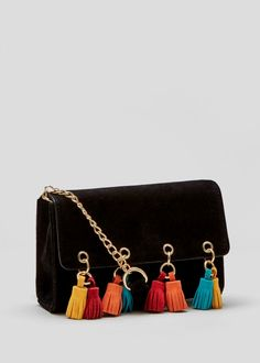 fce92efdb658 Tassel Across Body Bag - Matalan Across Body Bag