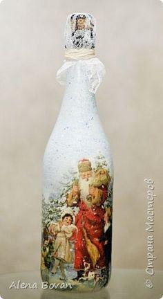 ДЕКУПАЖ  бутылочки новые и старые... фото 129