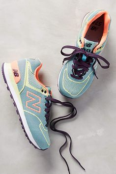 New Balance Woven 574 Sneakers - anthropologie.com #anthrofave #anthropologie